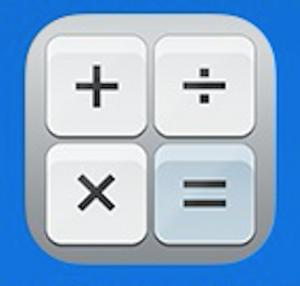 Calcolatrice icona