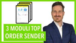 Order Sender moduli